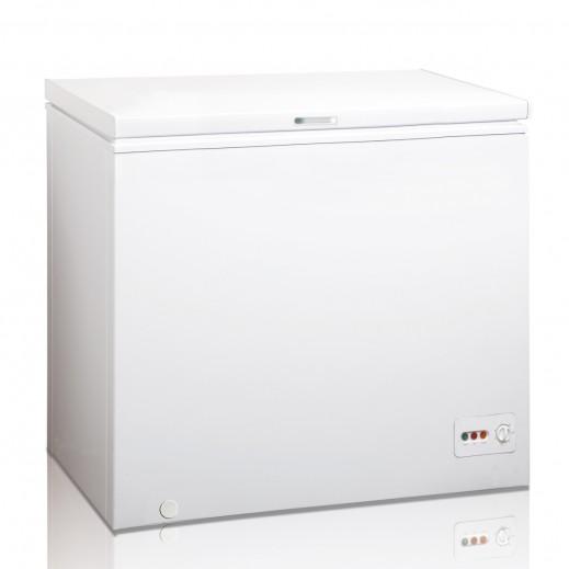 ميديا -  فريزر أفقى 200 لتر - أبيض  - يتم التوصيل بواسطة  AL-YOUSIFI CO.