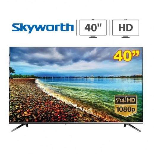سكاي وورث – تلفزيون ذكي أندرويد 40 بوصة Full HD LED موديل TB7000 – أسود - يتم التوصيل بواسطة  AL-YOUSIFI  بعد 3 ايام عمل