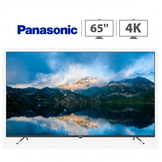باناسونيك – تلفزيون ذكي 65 بوصة UHD 4K LED - اسود - يتم التوصيل بواسطة  AL-YOUSIFI  بعد 3 ايام عمل