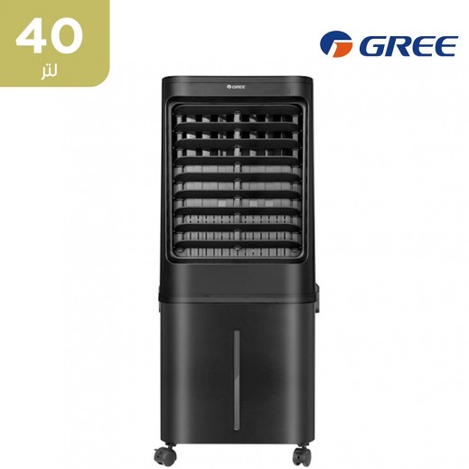 جري - مبرد هواء KSWK-4001DGL بسعة 40 لتر - أسود - يتم التوصيل بواسطة  AL-YOUSIFI  في خلال 3 أيام