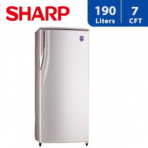 شارب - ثلاجة باب واحد 7 قدم مكعب 190 لتر - يتم التوصيل بواسطة  AL-YOUSIFI CO.