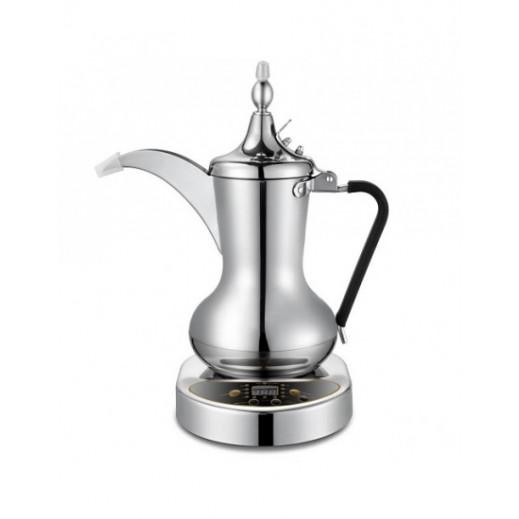 اوركا – دلة القهوة العربية 1000واط سعة 1 لتر - فضى