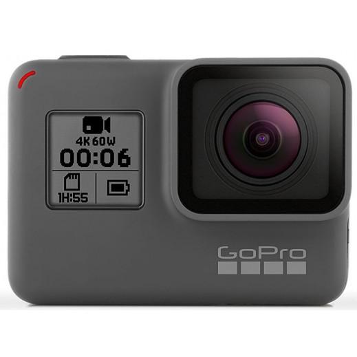 جوبرو - كاميرا هيرو 6 4K UHD بقوة 12 ميجابكسل – أسود - يتم التوصيل بواسطة Digital World Exh