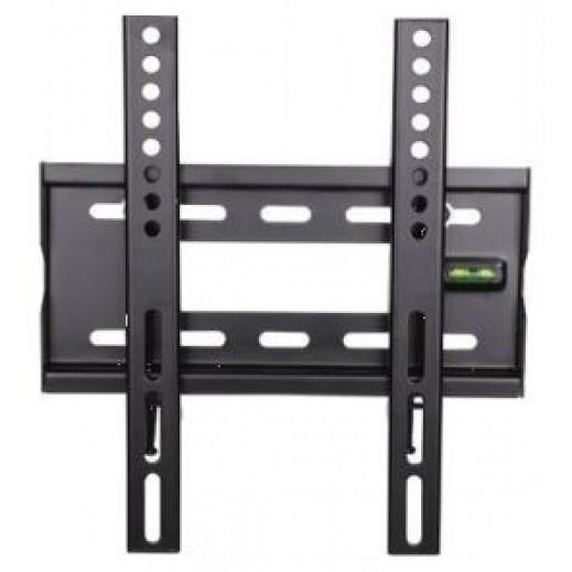 إن إتش إي – حامل الحائط للتلفزيون قابل للتعديل من 14 حتى 32 بوصة – أسود