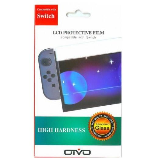 فيلم حماية شاشة LCD عالي الصلابة لجهاز نينتندو Switch