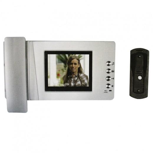 نيبوتيك - جهاز إنتركم المرئي للتعرف على المتصل الخارجي بالصوت والصورة موديل (NVP-355)