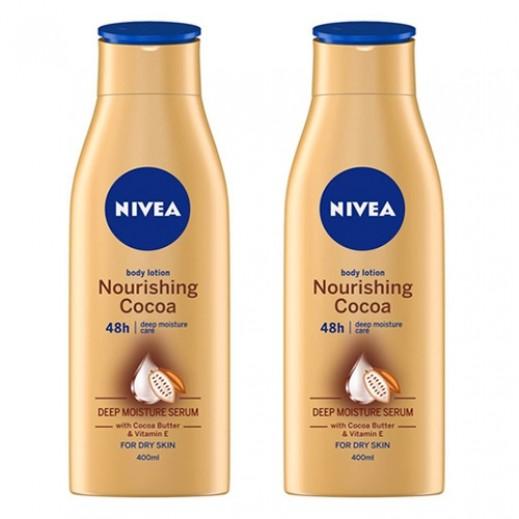نيفيا - لوشن بالكاكاو والحليب (2 × 250 مل)