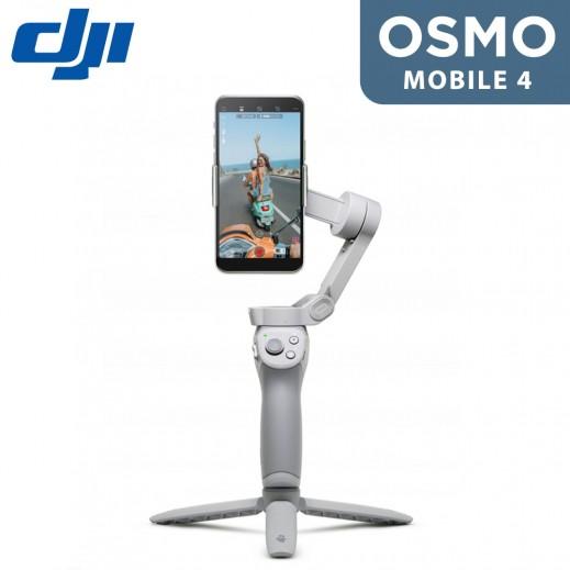 دي جي آى - عصا السلفي Osmo Mobile 4 – رمادي