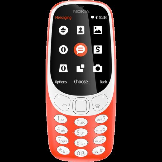 نوكيا - 3310 شريحتين SIM - برتقالي