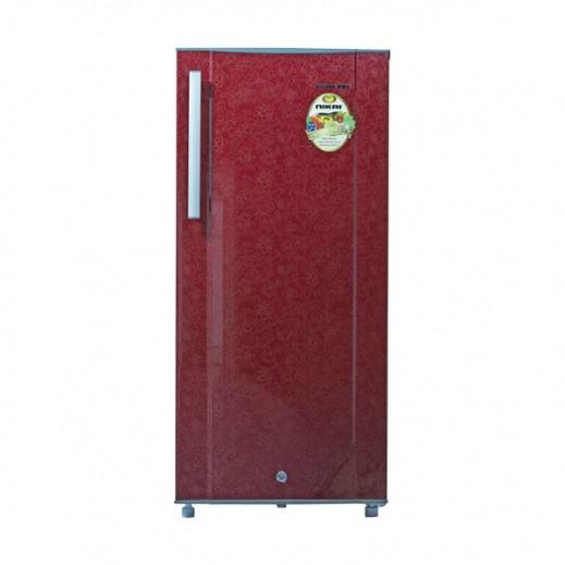 نيكاي - ثلاجة 200 لتر 7 قدم – احمر - يتم التوصيل بواسطة United Techno