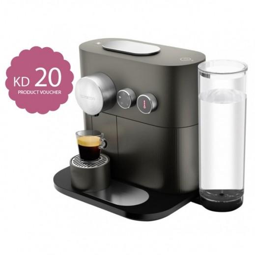 نسبريسو – ماكينة تحضير القهوة Expert– رمادي