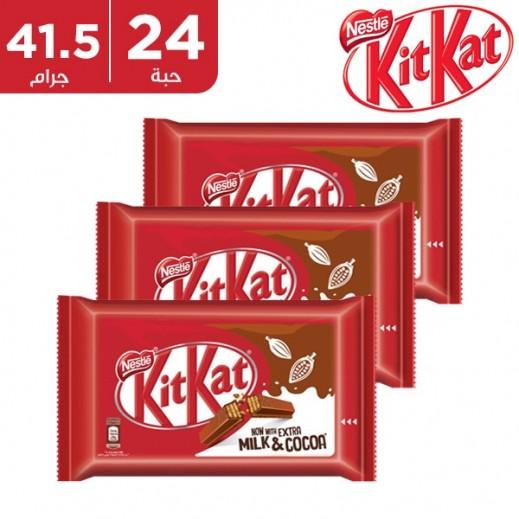 كيت كات - شوكولاتة 4 أصابع 24 حبة×41.5 جم