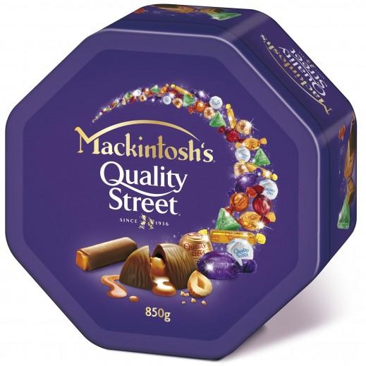 """ماكنتوش – شوكولا """" كواليتي ستريت """"  850 جم"""