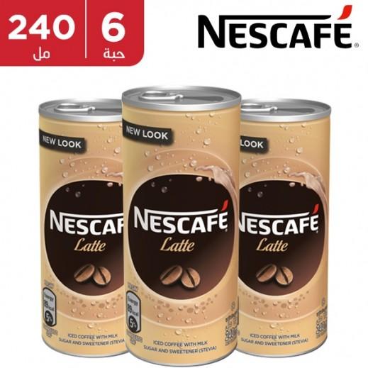 نسكافية - قهوة لاتيه جاهزة 240 مل
