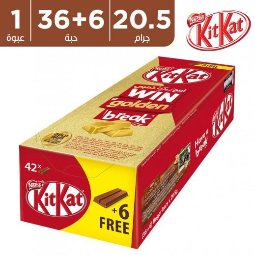 كيت كات - شوكولاتة 2 أصابع 20.5 جم (36 + 6 مجاناً)