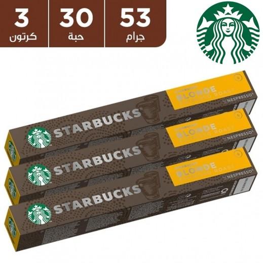 ستاربكس – قهوة بلوند روست اسبريسو 53 جم 30 كبسولة