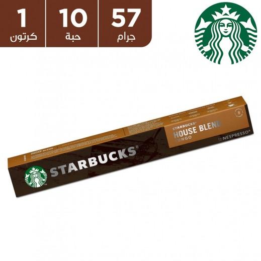قهوة الخليط المنزلي ستاربكس نسبرسو 57 جم ( 10 كبسولات)
