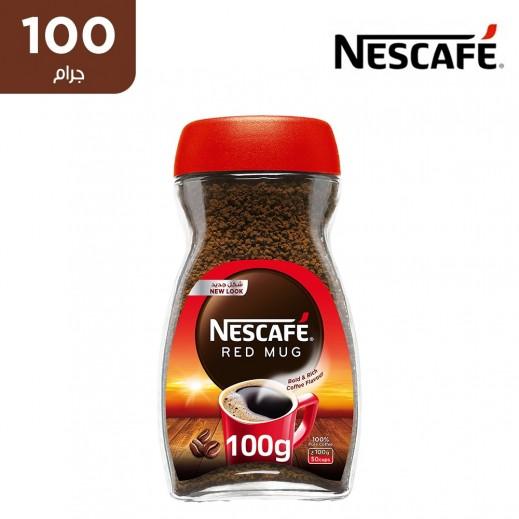 """نسكافيه – قهوة سريعة التحضير """" ريد مج """" 100 جم"""
