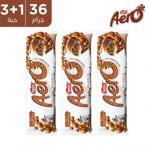 نستله ايرو شوكولاتة الحليب 36 جم (3 + 1 مجاناً)