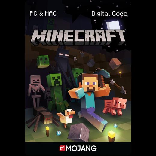 بطاقة فورية للعبة Minecraft بقيمة 26.95 دولار للكمبيوتر و الماك (استلام عبر الإيميل)