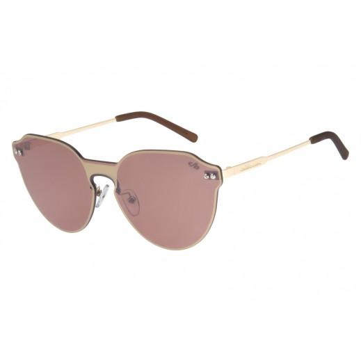 تشيلي بينز - نظارة شمسية للسيدات بني & ذهبي  - يتم التوصيل بواسطة F3 Sunglasses