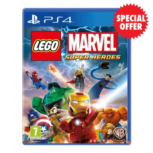 لعبة LEGO Marvel Super Heroes بلاي ستيشن 4 – NTSC