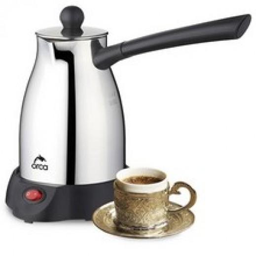 اوركا – محضرة قهوة 1000 واط – فضي