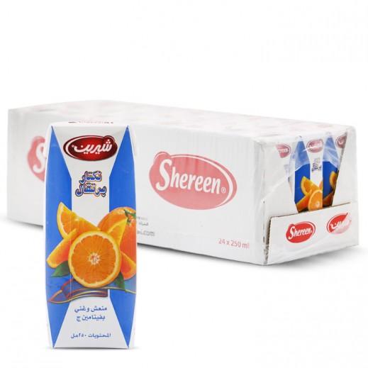 شيرين - عصير البرتقال نكتار 250 مل ( 24 حبة )