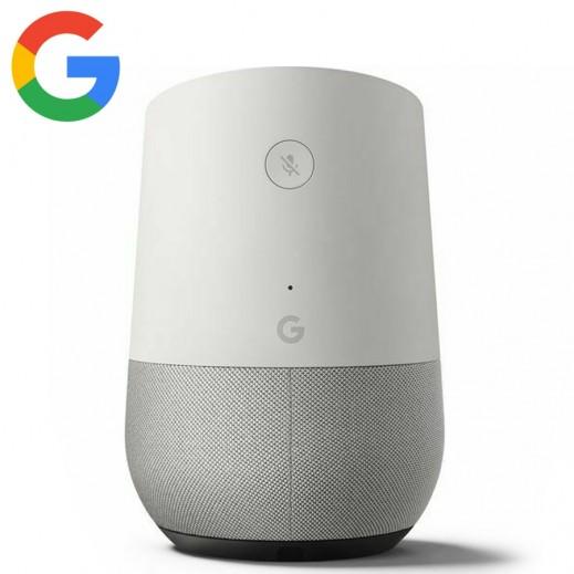 جوجل – مكبر صوت بالتحكم الصوتى – ابيض