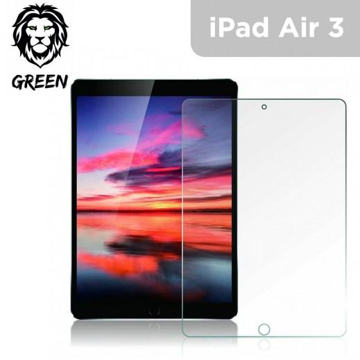 جرين - حماية شاشة زجاجية Full HD لايباد اير 3 - شفاف
