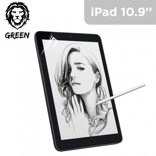 """جرين - حماية شاشة للكتابة والرسم لايباد برو10.9 """" - شفاف"""