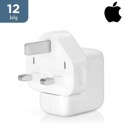 ابل – محول الطاقة USB بقوة 12 واط – ابيض