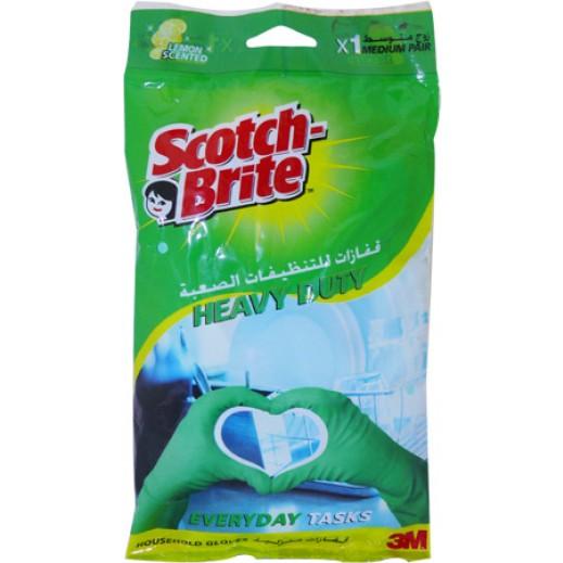 سكوتش برايت – قفازات متعددة الإستخدامات برائحة الفانيلا – وسط