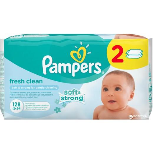 بامبرز- مناديل تنظيف منعشة للأطفال 128 منديل