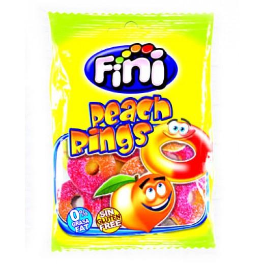 فيني – حلوى حلقات الخوخ 100 جم