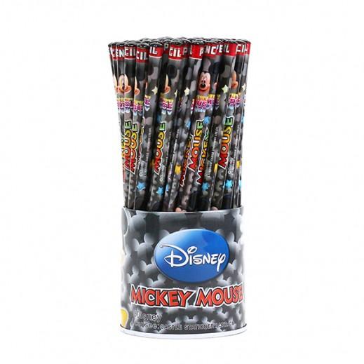 طقم أقلام رصاص بتصميم ميكي ماوس 72 حبة