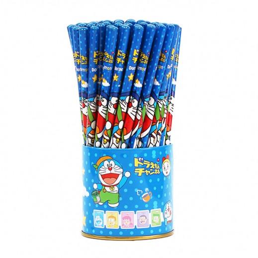 طقم أقلام رصاص بتصميم دورا مين  72 حبة