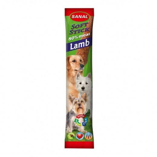 سانال - طعام الكلاب من شرائح الضأن 12 جرام