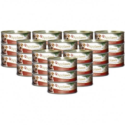 أبلوز – طعام الكلاب الطبيعي مع الدجاج والأرز 156 جرام (24 حبة) - أسعار الجملة