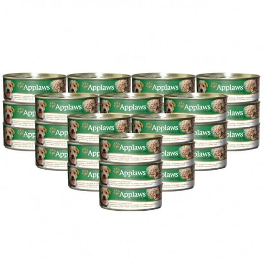 أبلوز – طعام الكلاب الطبيعي مع الدجاج والضأن في جيلي 156 جرام (24 حبة) - أسعار الجملة