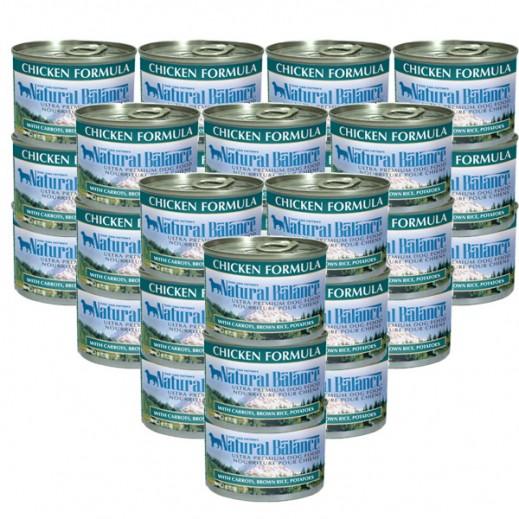 ناتشرال بالانس – وجبة معجون الدجاج الطبيعي للكلاب 170 جرام (24 حبة) - أسعار الجملة