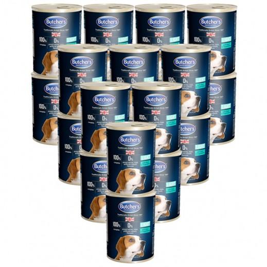 بوتشرز ناتشرال نوترشن – طعام الكلاب باللحم البقري والخضروات 24×400 جم - أسعار الجملة