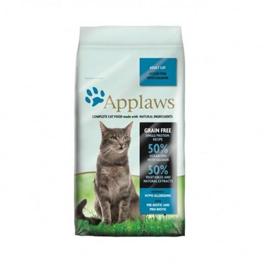 أبلوز – طعام القطط البالغة الجاف بالسمك البحري مع السالمون 1.8 كجم