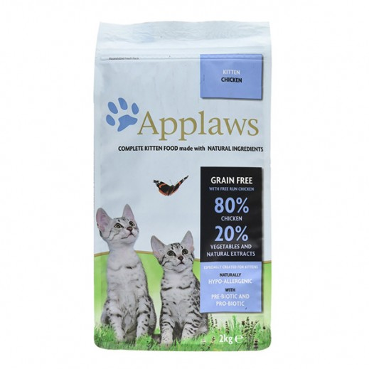 أبلوز – طعام القطط الصغيرة الجاف مع الدجاج 2 كجم