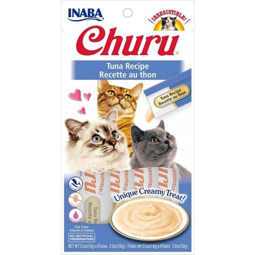 إنابا – طعام قطط تونا تشورو مع فيتامينات مضافة 56 جم