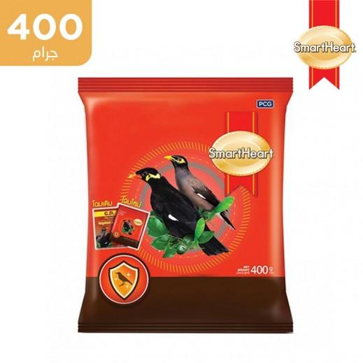 سمارت هارت – طعام حبوب طائر (مينا) لكثافة الريش وتقوية الجهاز المناعي 400 جم