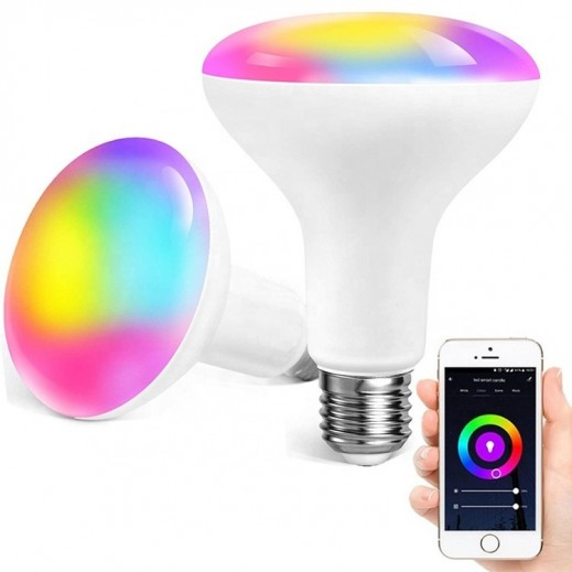 نظام إضاءة LED يعمل بالواي فاي وتحكم صوتي
