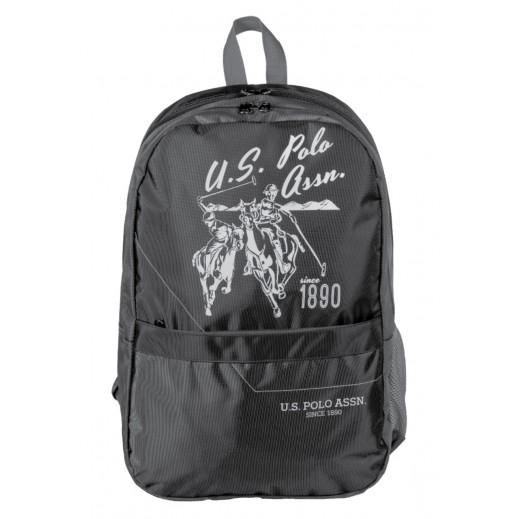 يو إس بولو - حقيبة ظهر 9105 - أسود - 46.9 سم