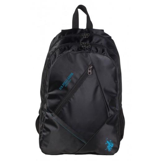 يو إس بولو - حقيبة ظهر 9113 - أسود - 46.9 سم