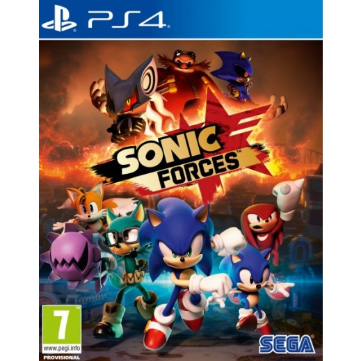 لعبة Sonic Forces لجهاز بلاي ستيشن 4 – نظام PAL (عربي)